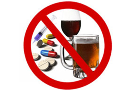 Drugs and Drinking no more